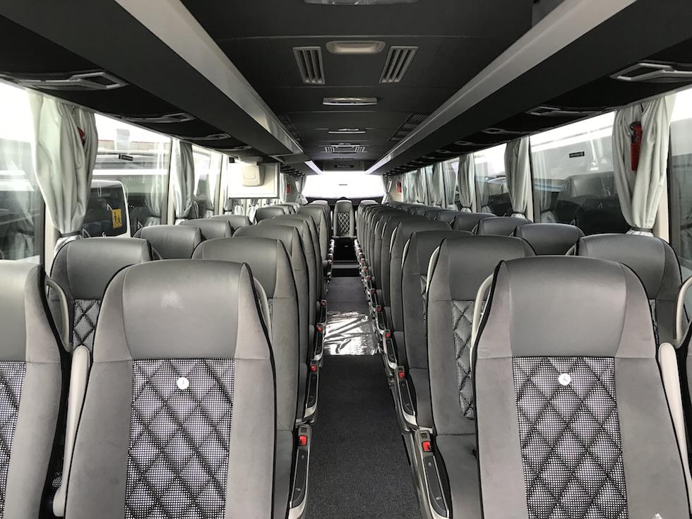 Consegna Mercedes 2019 a Coperativa Trasporti Riolo Terme interni