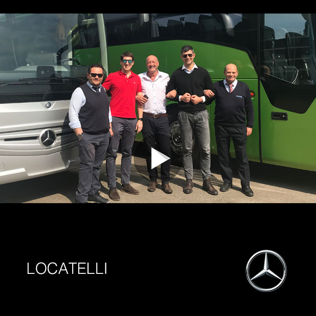Locatelli Consegna 2019 Mercedes-Benz Tourismo
