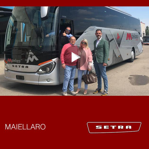 Consegna Setra 2019 a Maiellaro