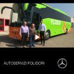 Consegna Tourismo Mercedes-Benz 2019 a Polidori