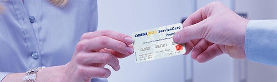 Service Card OMNIplus e UTA