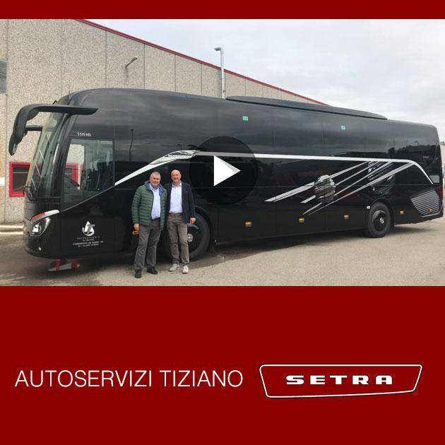 Consegna Setra 2019 Tiziano