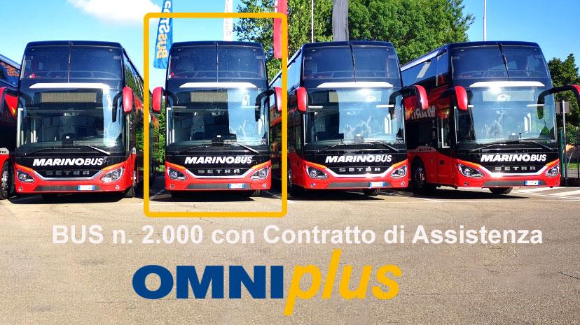 Bus 2000 con cotratto si assistenza OMNIplus a Marino