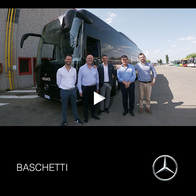 Consegna Mercedes 2019 a BASCHETTI