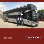Consegna SETRA 2019 a BONOMI