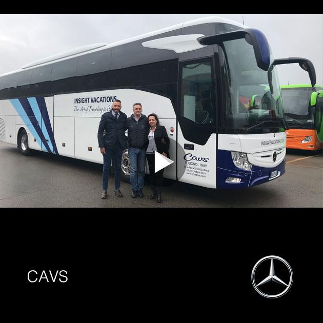 Consegna Mercedes 2019 a CAVS