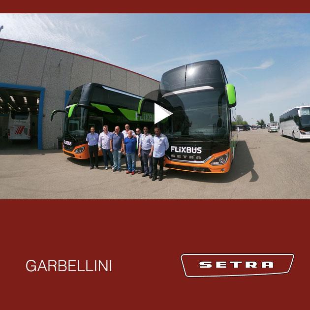 Consegna SETRA 2019 a GARBELLINI