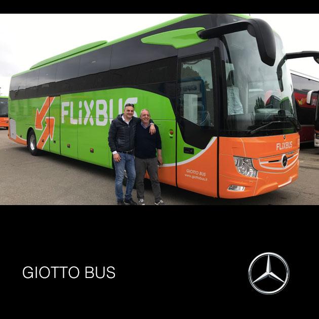 Consegna Mercedes 2019 a GIOTTO BUS