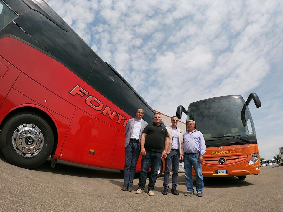 Consegna Mercedes 2019 a FONTI