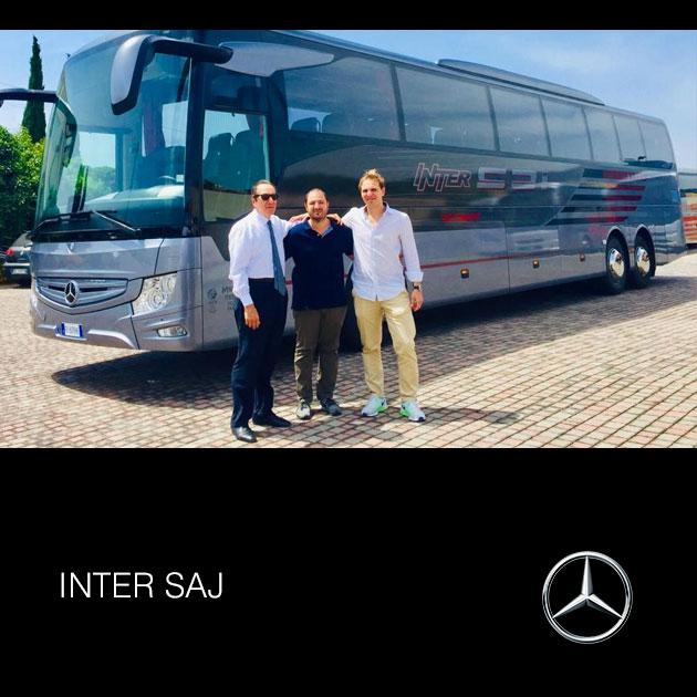 Consegna Mercedes-Benz 2018 a InterSaj