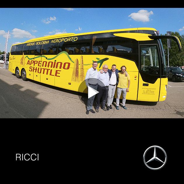 Consegna Mercedes 2019 a RICCI
