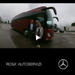 Consegna Mercedes 2019 a ROSA' AUTOSERVIZI