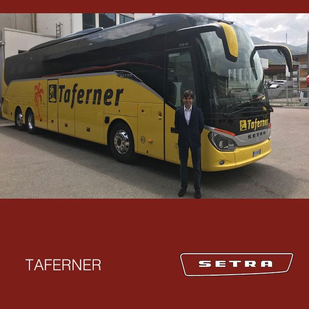 Consegna SETRA 2019 a TAFERNER