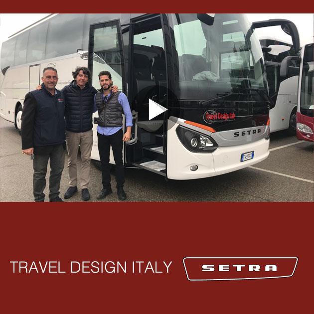 Consegna SETRA 2019 a TDI Travel Design Italy