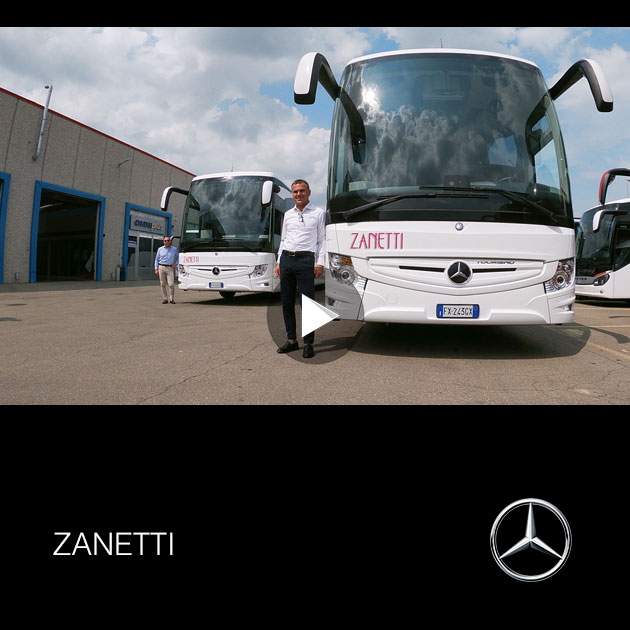 Consegna Mercedes 2019 a ZANETTI