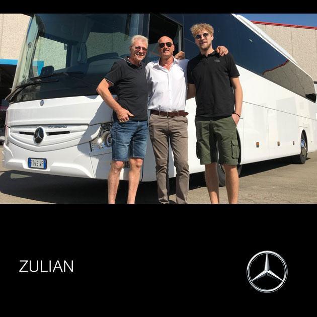 Consegna Mercedes 2019 a Zulian