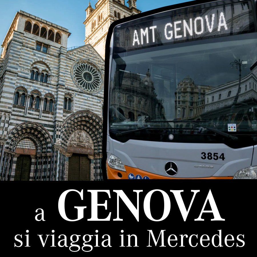 A Genova si viaggia in Mercedes 2019