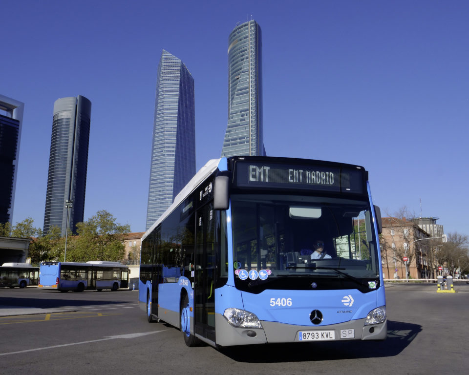 Mercedes-Benz Citaro NGT a Madrid