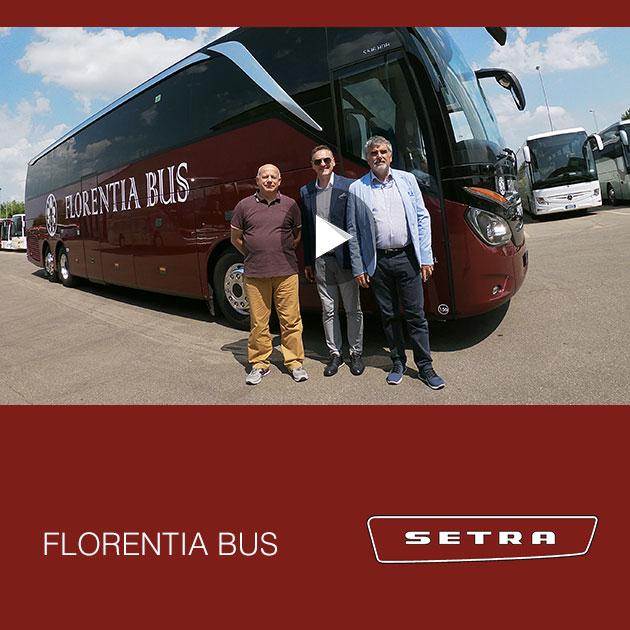 Consegna SETRA 2019 a FLORENTIA