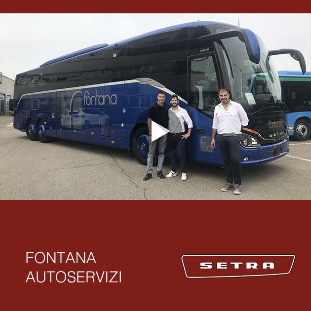 Consegna SETRA 2019 a FONTANA