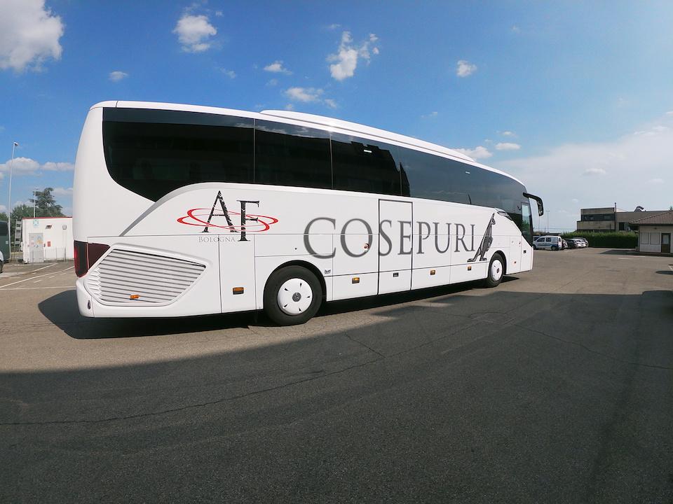 Consegna SETRA 2019 a ALPINO