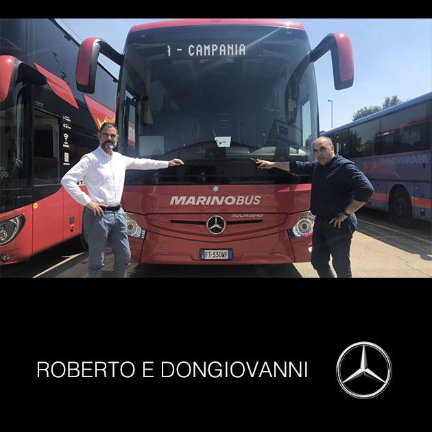 Consegna Mercedes 2019 a ROBERTO E DONGIOVANNI