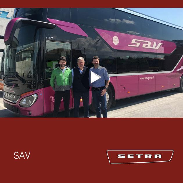 Consegna Setra 2019 a SAV