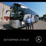 Consegna Mercedes 2019 a LA VALLE