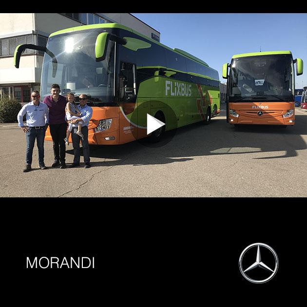Consegna Mercedes 2019 a MORANDI