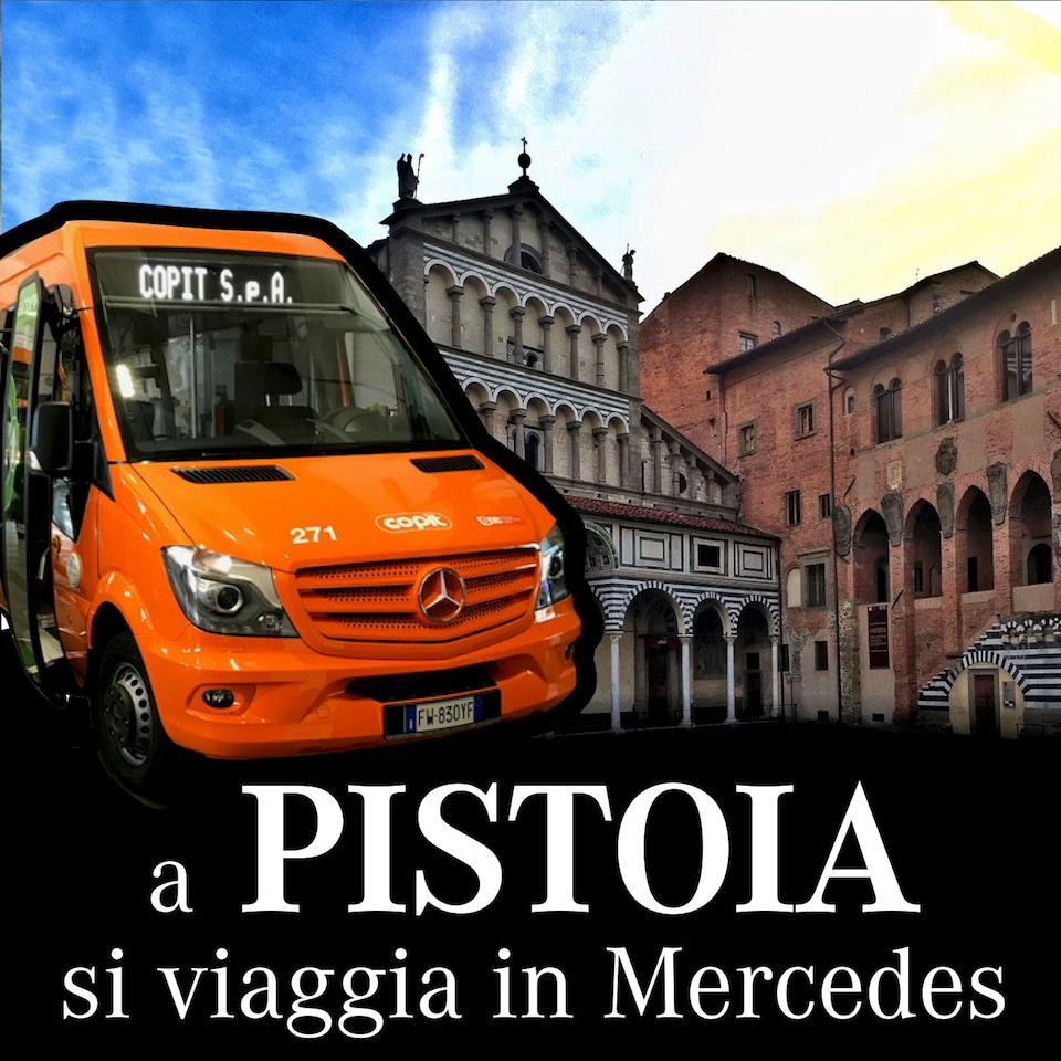 A Pistoia si viaggia in Mercedes Consegna TPL a COPIT luglio 2019