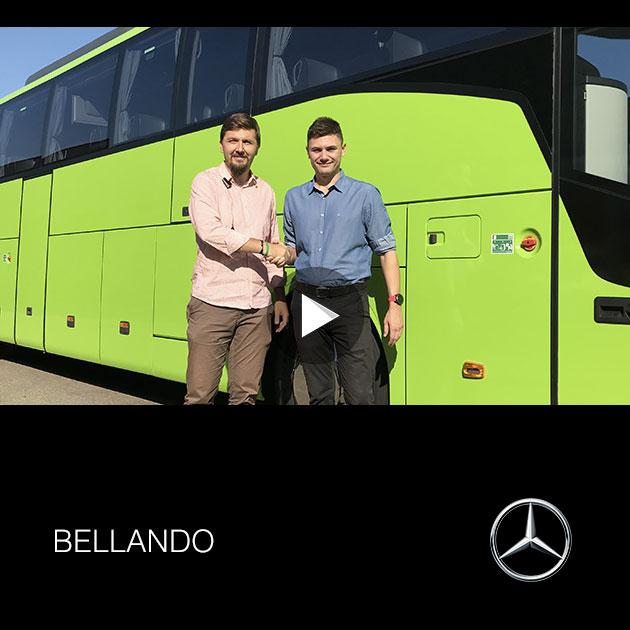 Consegna Mercedes 2019 a BELLANDO