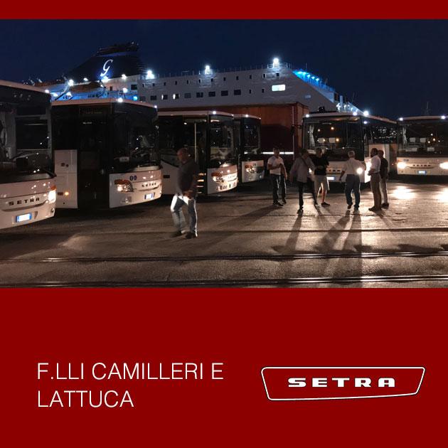 Consegna Setra 2019 a Camilleri e lattuca