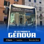 eCitaro MercedesBenz in prova a Genova settembre 2019
