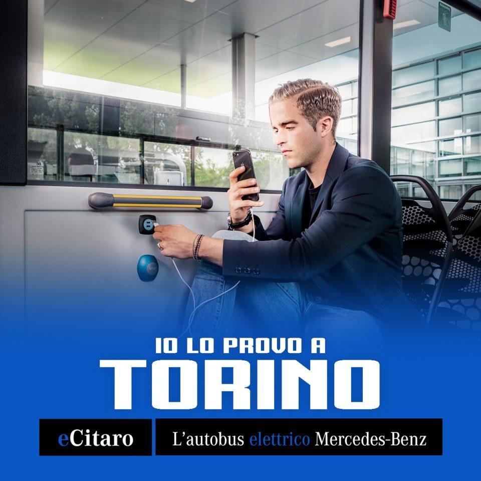 eCitaro MercedesBenz in prova a Torino settembre 2019