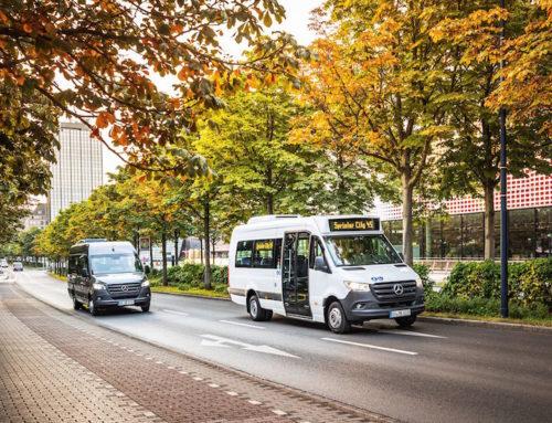 Due nuove Stelle Mercedes: Sprinter Transfer 45 e Sprinter City 45