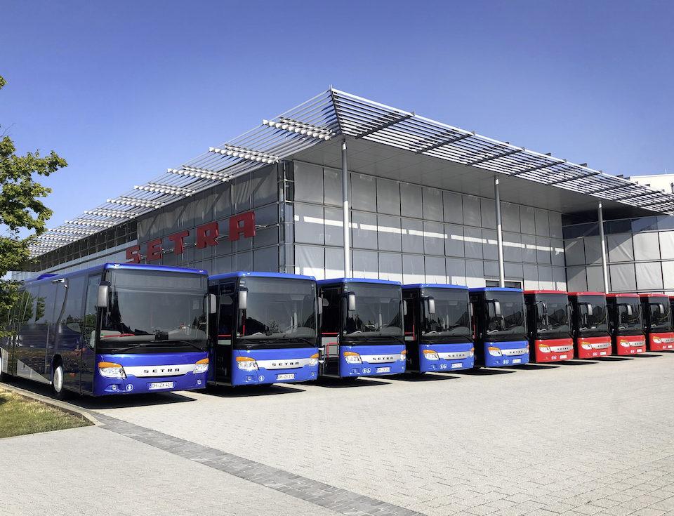 44 nuovi autobus Setra in Bassa Sassonia