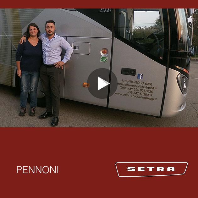 Consegna SETRA 2019 a PENNONI