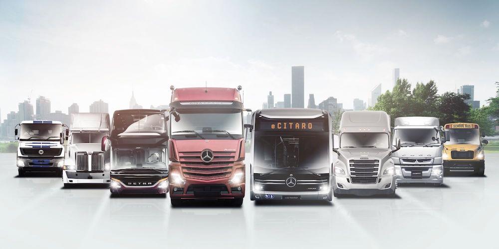 Nuova struttura societaria e nuovo sito per Daimler novembre 2019