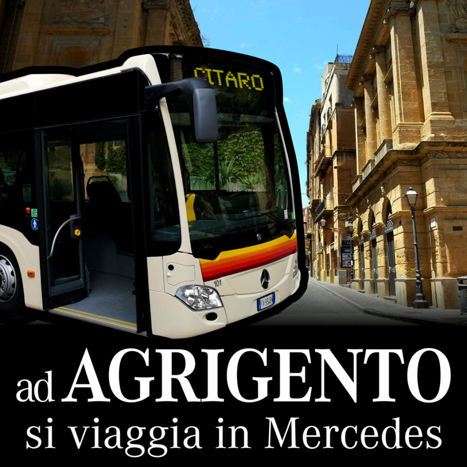 Ad Agrigento si viaggia in Mercedes 2019