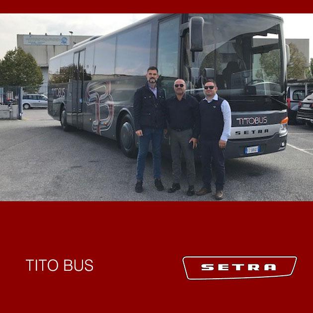 Consegna Setra 2019 a Titobus