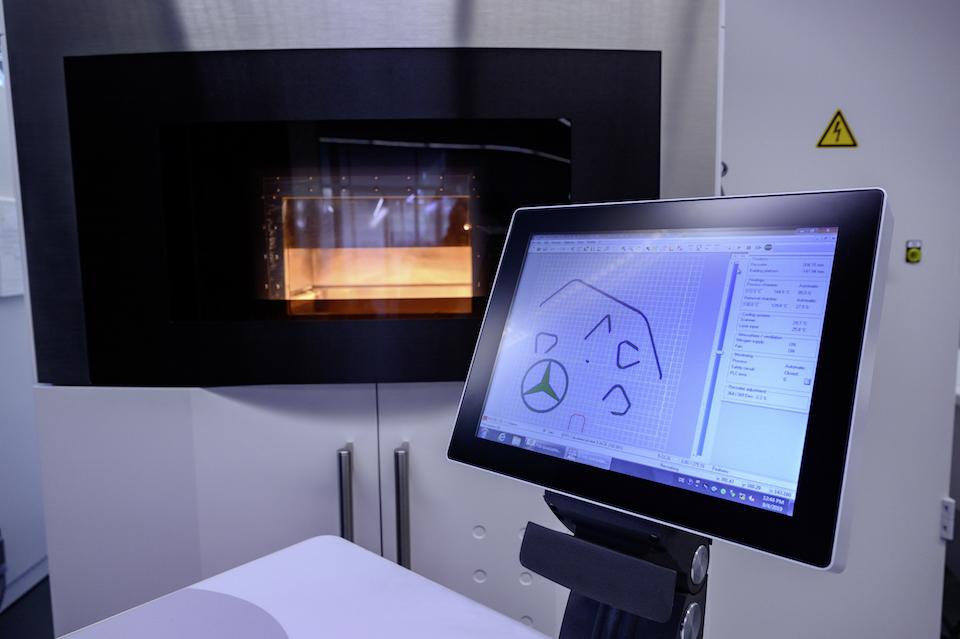Stampa ricambi 3D OMNIp
