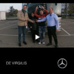 Consegna MERCEDES inverno 2019 a DE VIRGILIS