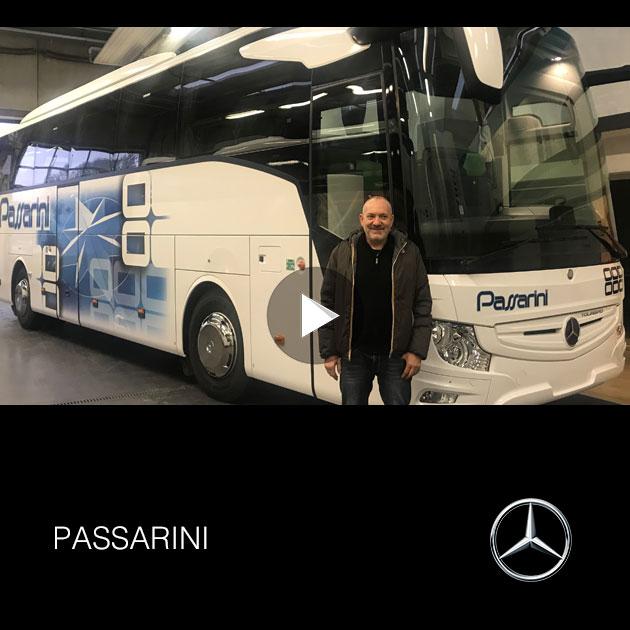 Consegna Mercedes_Benz Tourismo 2019 a Passarini