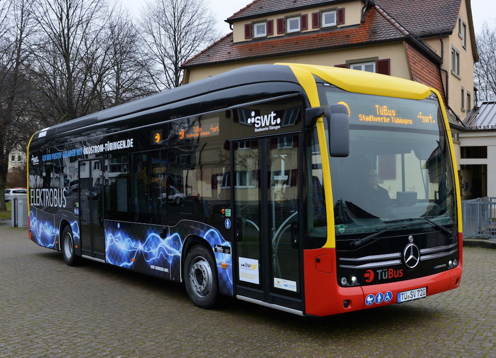 eCitaro Mercedes-Benz a Tubinga 2019