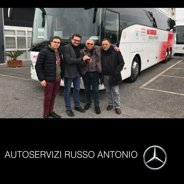 Consegna Mercedes-benz 2019 a Autoservizi Russo