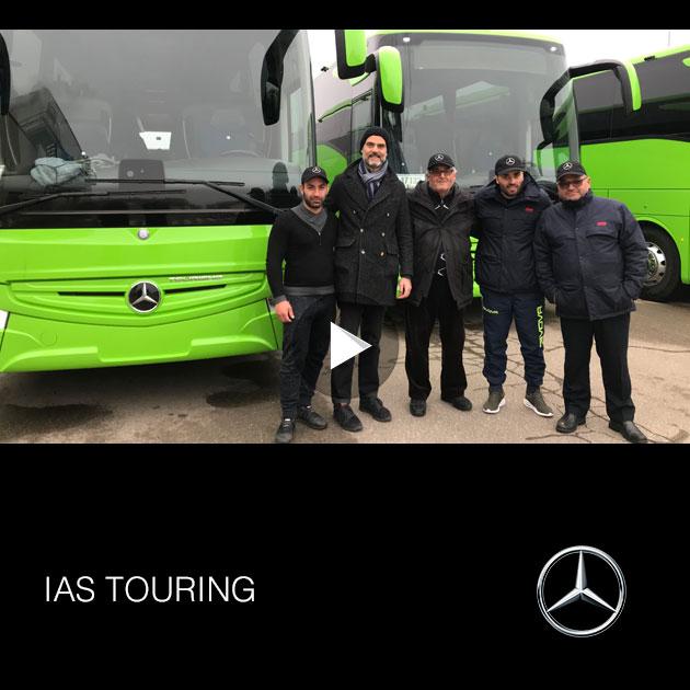 Consegna Mercedes 2019 a IAS TOURING
