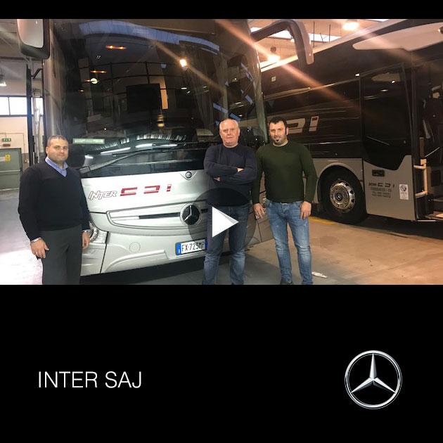 Consegna Mercedes-Benz a Inter Saj 2019