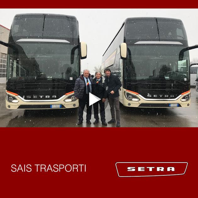 Consegna Setra Sais Trasporti dicembre 2019