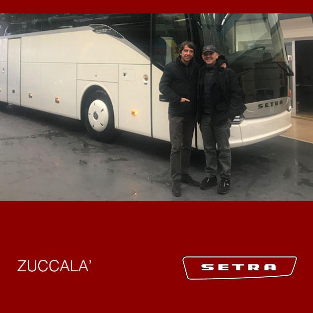 Consegna Setra 2019 a Zuccalà