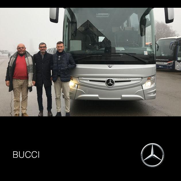 Consegna Mercedes-Benz 2019 a BUCCI